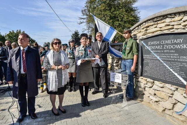 Cmentarz żydowski-rededykacja.Busko-Z